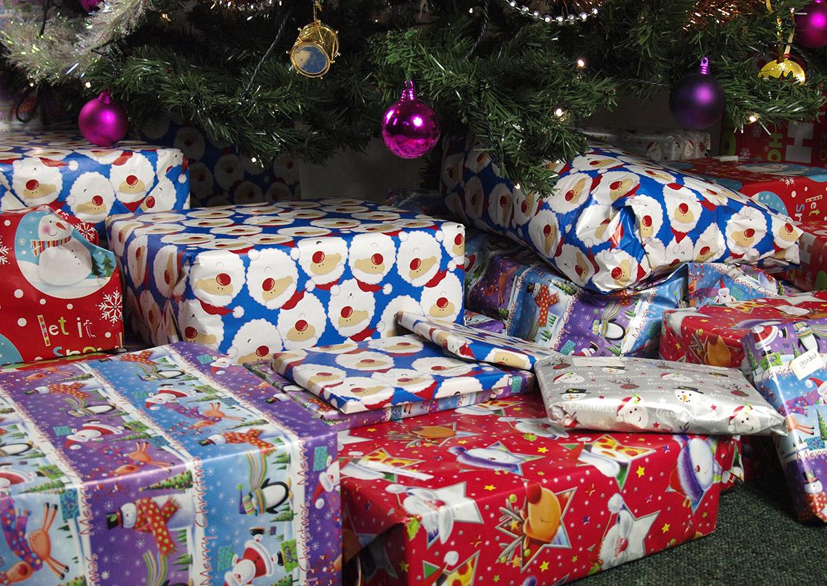 Christmas presents.