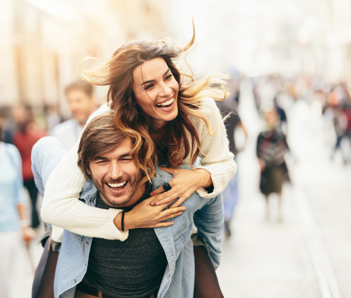Researchers say love, not money, is what makes people happy.