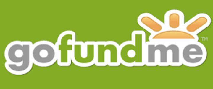 GoFundMe logo.
