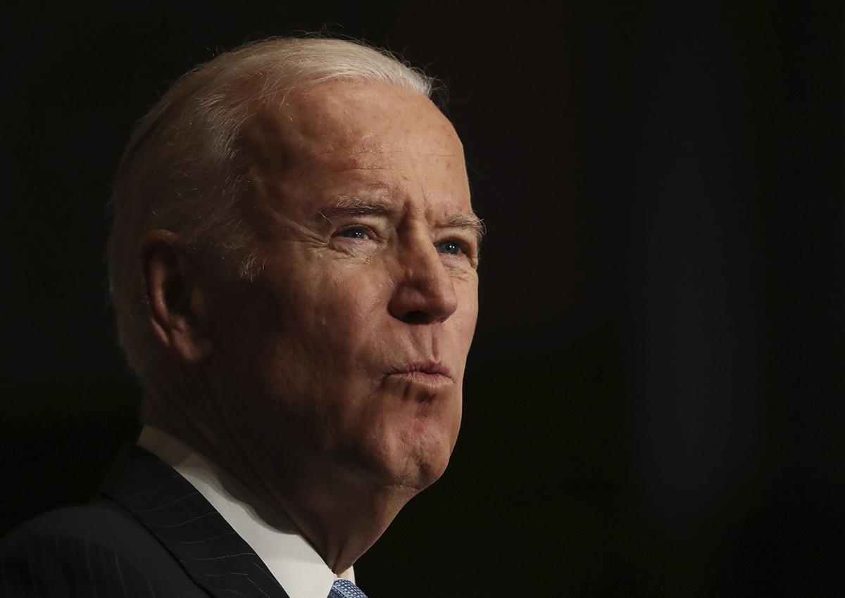 Vice President Joe Biden speaks about sound financial sector regulation at Georgetown University in Washington, Monday, Dec. 5, 2016.
