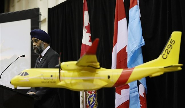 Canadian military to continue flying old rescue planes as COVID-19 delays new aircraft