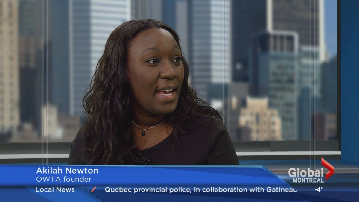 """Overture with the Arts founder Akilah Newton dropped the Global News Morning studio to talk about the """"Countdown to Christmas"""" vendor fair to be held at Riverdale High School on Dec. 11."""