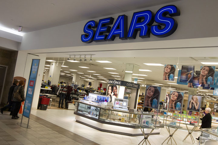 A Sears department store in Kingston