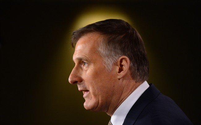 Conservative leadership candidate Maxime Bernier has a commanding lead of the pack in the first blush of polling data to emerg since Kevin O'Leary dropped out of the race.