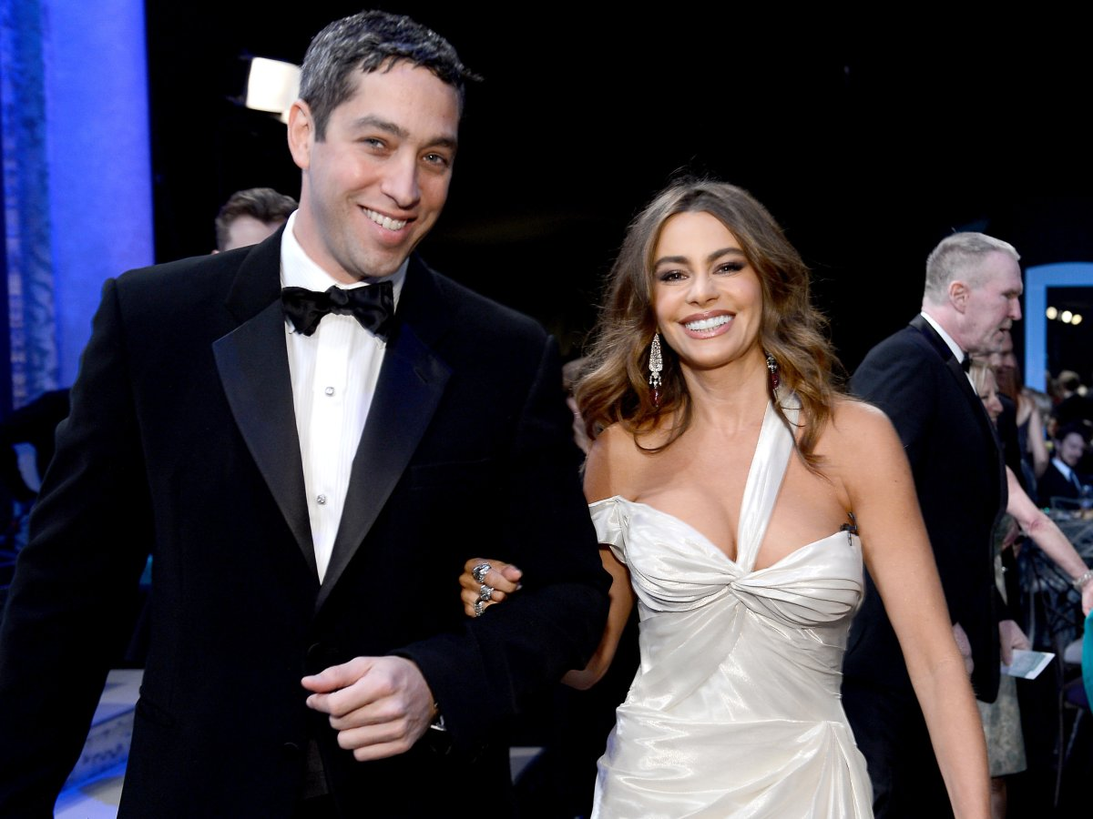 Nick Loeb and Sofia Vergara at the Screen Actors Guild Awards in 2013.