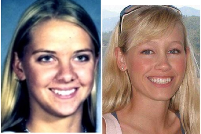Tera Smith, left, disappeared in 1998 in the same community as kidnapping victim Sherri Papini, right. The two attended school together.