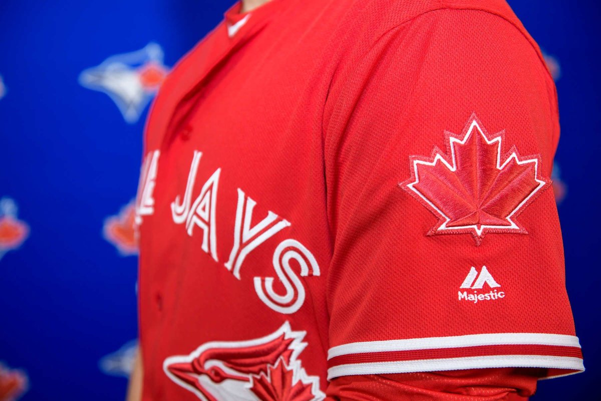 In celebration of being Canada's team, and just in time for the Canada 150 festivities, the Blue Jays will don a new red and white uniform for select games throughout the 2017 season and beyond.