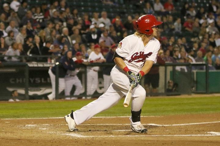 The contract of Winnipeg Goldeyes outfielder Josh Romanski has been purchased by the Minnesota Twins organization.