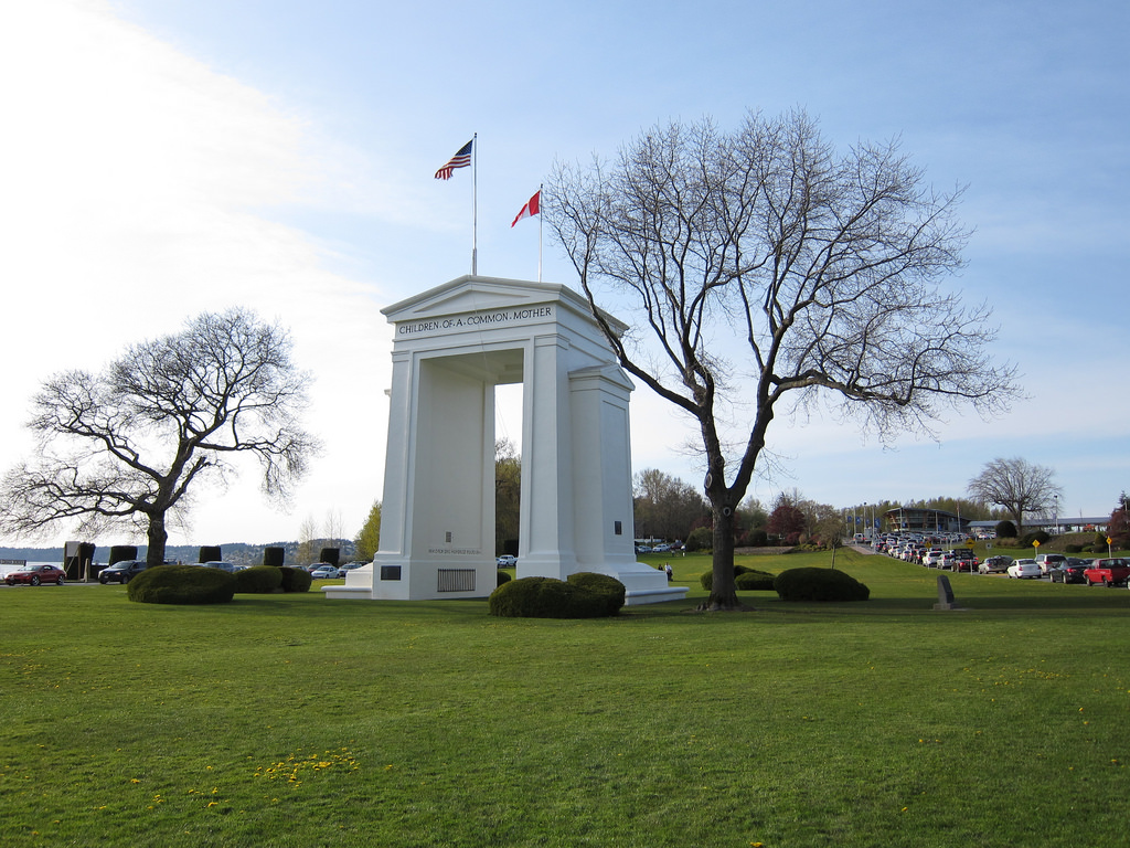 The Peace Arch Crossing will be undergoing some construction in late March, which may cause delays for drivers.