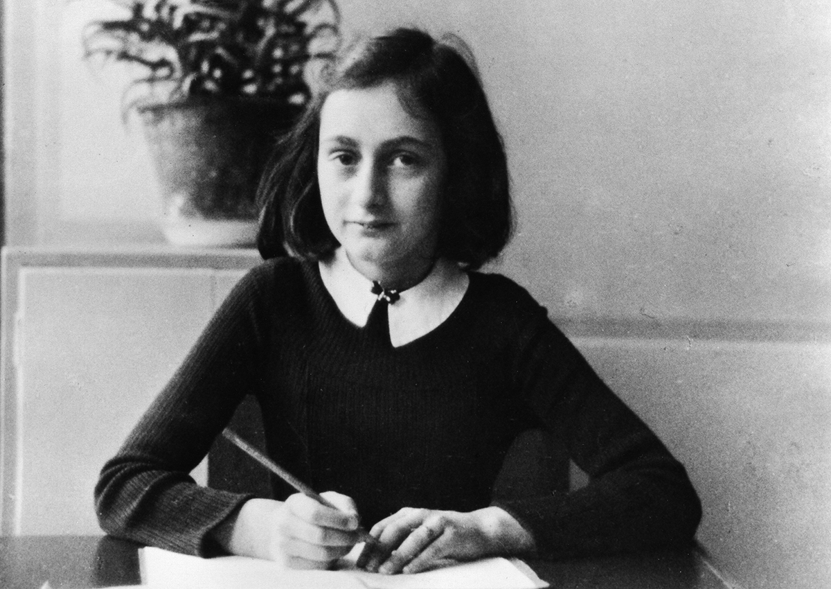 Anne Frank, German Jew who emigrated with her family to the Netherlands during the Nazi era.