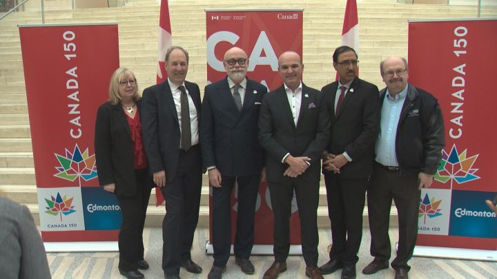 More than 20 community projects in the Edmonton area will benefit from over $3 million in federal funding as a way to help commemorate Canada's 150th birthday this year.