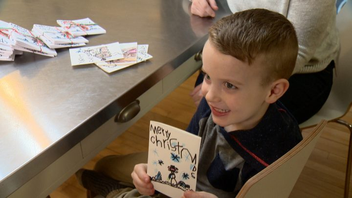 Theo Anderson helped family friend Jordan Friesen raise money for a stem cell procedure offered in China to combat retinitis pigmentosa.