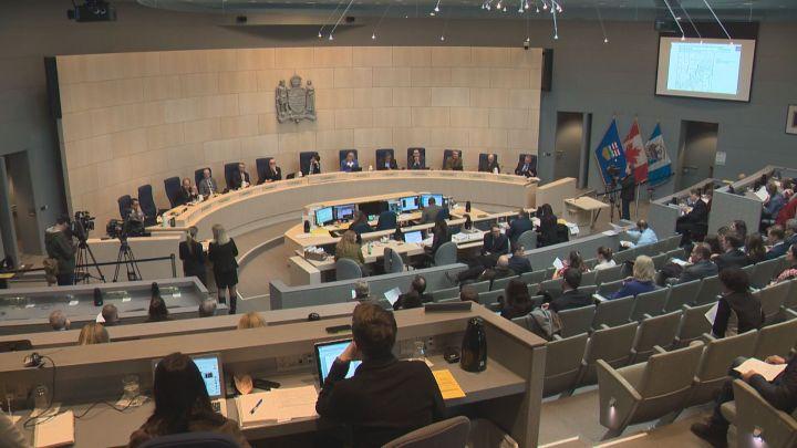 Edmonton city council on Jan. 23, 2017.