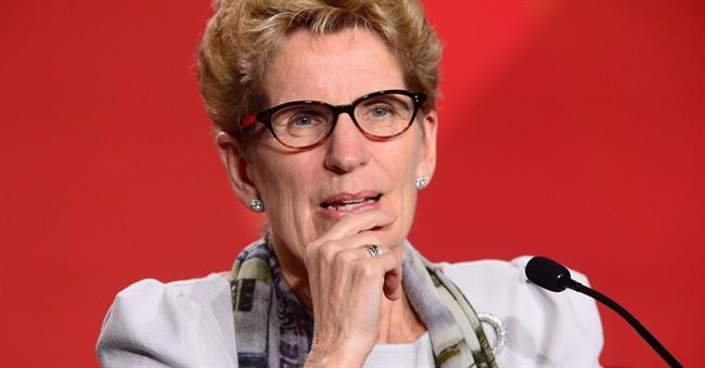 Ontario Premier Kathleen Wynne in Ottawa on Friday, Dec. 9, 2016.