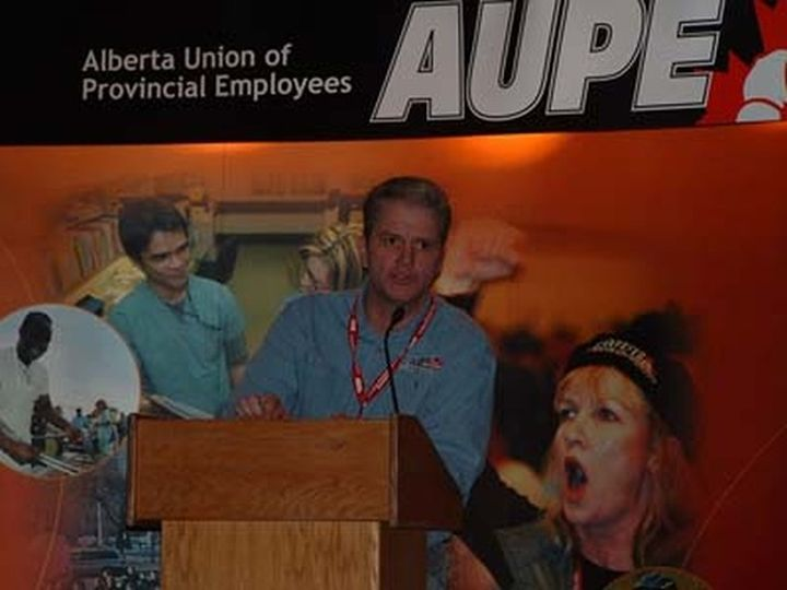 A file photo of former AUPE president Dan MacLennan.