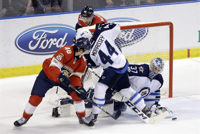 The suspension comes after Morrissey had a hearing Wednesday with NHL Player Safety.