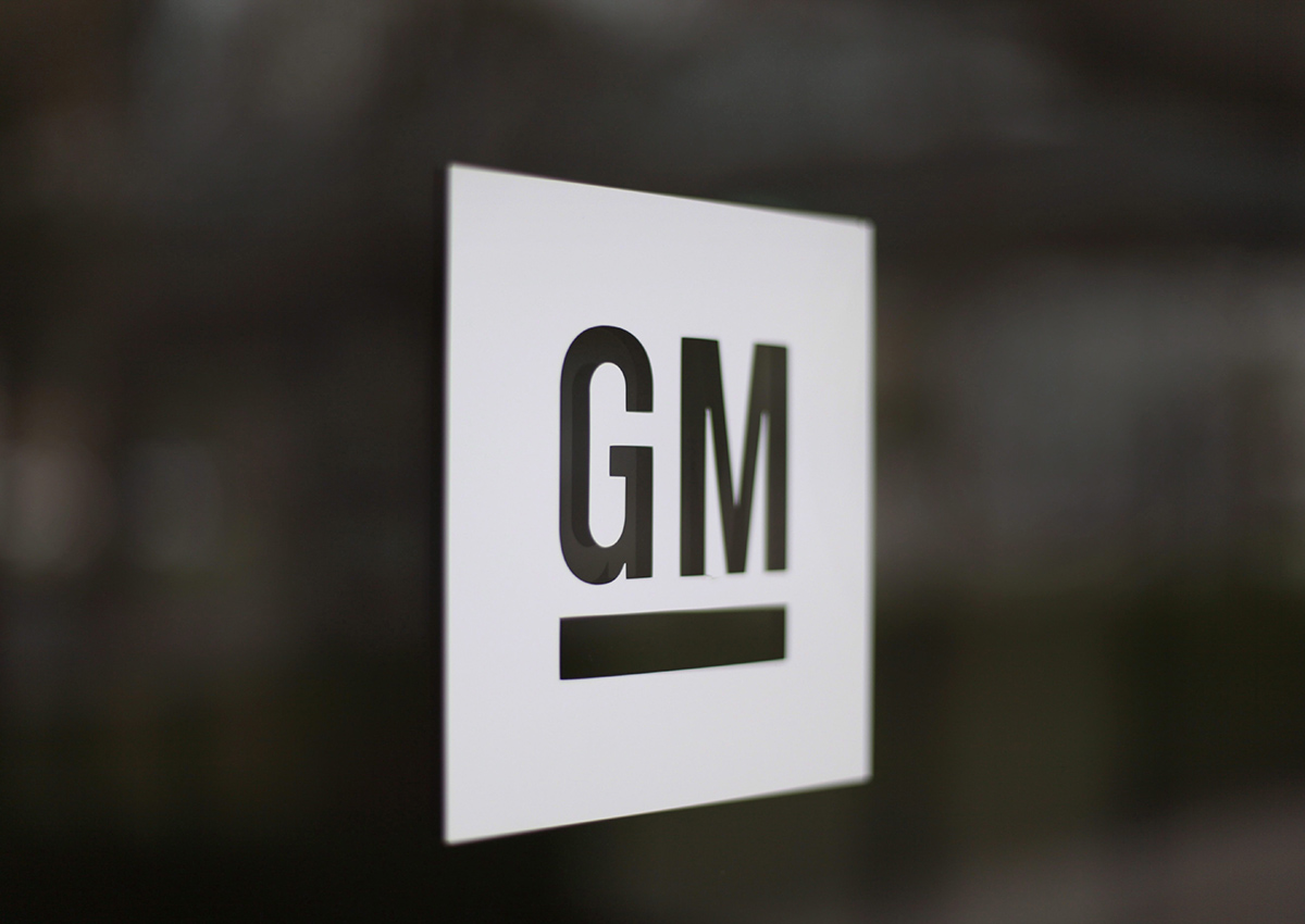 This Friday, May 16, 2014, file photo, shows the General Motors logo at the company's world headquarters in Detroit.