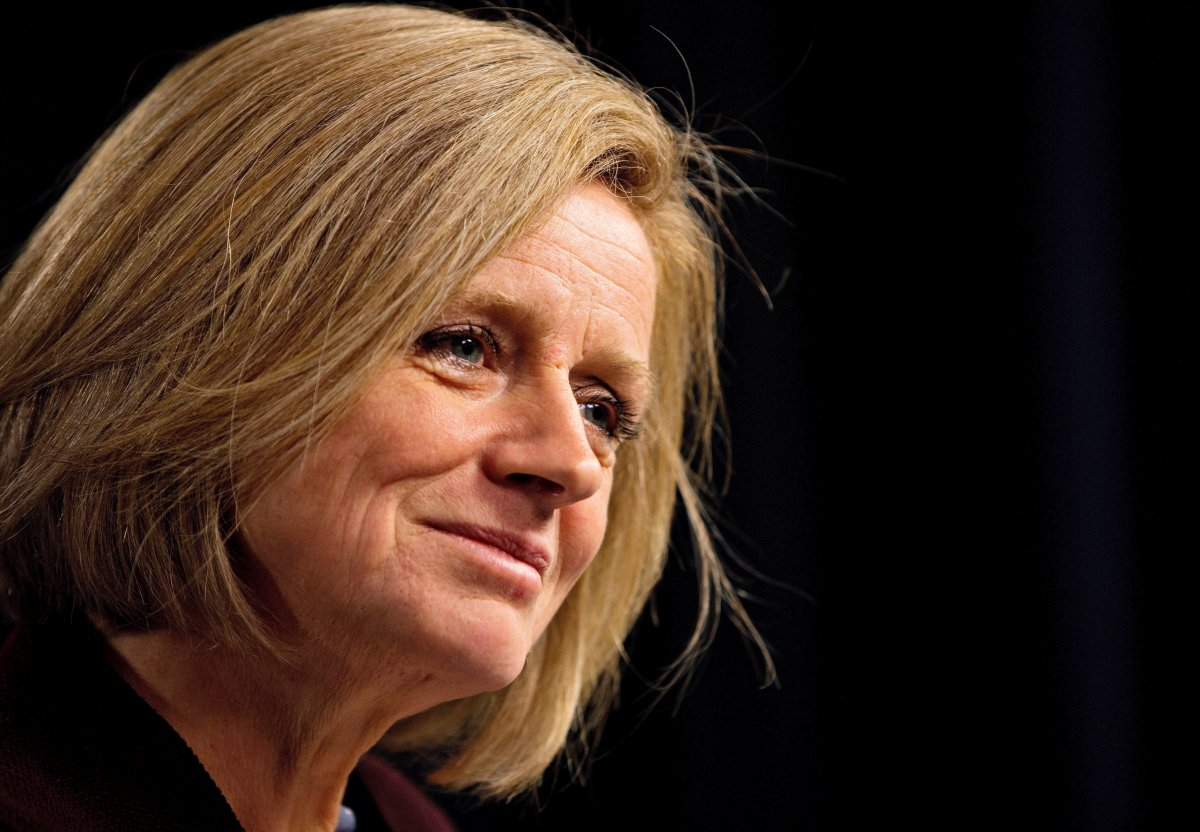 File: Alberta Premier Rachel Notley.