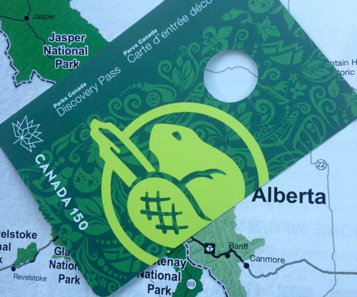 FILE: Parks Canada pass.