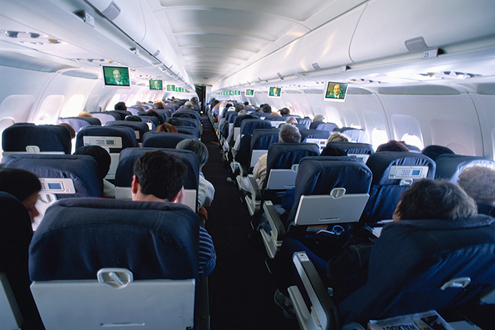 The death of a plane passenger is a sensitive situation.
