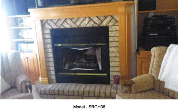 A photo of one of the affected fireplaces in a Fuels Safety Program order signed by a Technical Standards and Safety Act (TSSA) director Nov. 18, 2016.
