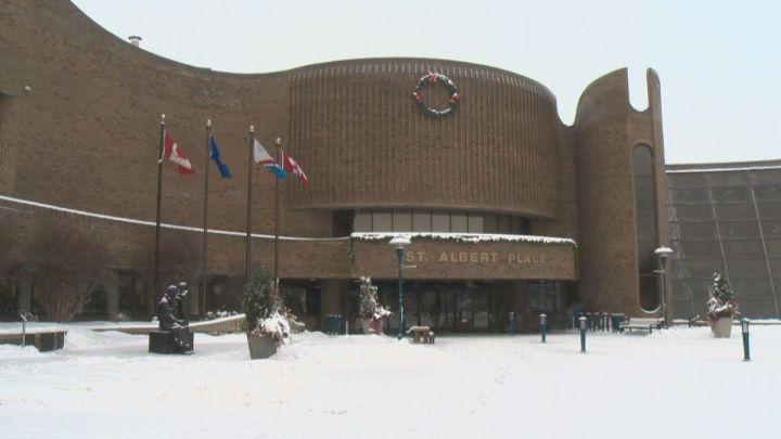 St. Albert City Hall.
