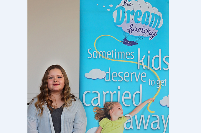 Ashlee Podolsky will soon have her dream come true to go with her family to Hawaii.
