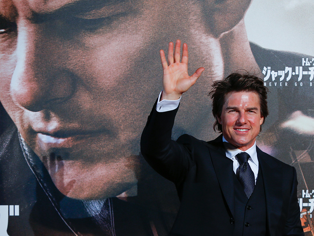 Tom Cruise, pictured at the Tokyo premiere of 'Jack Reacher: Never Go Back', is one of Scientology's most vocal supporters.