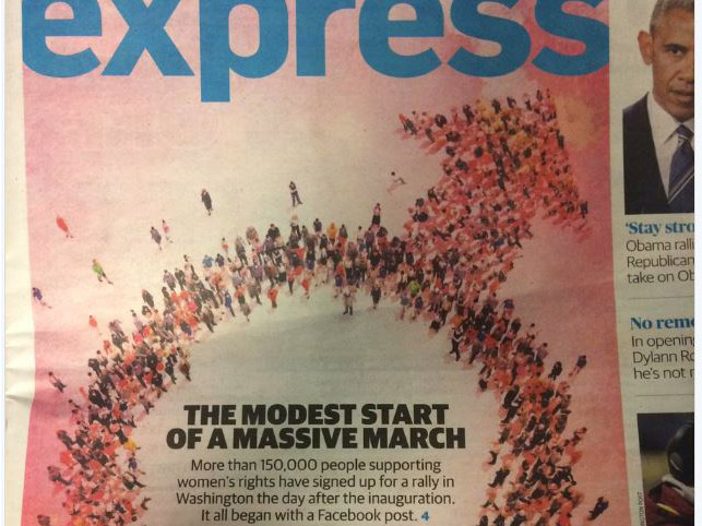The 'Washington Post Express' magazine is backpedalling after a major cover gaffe.