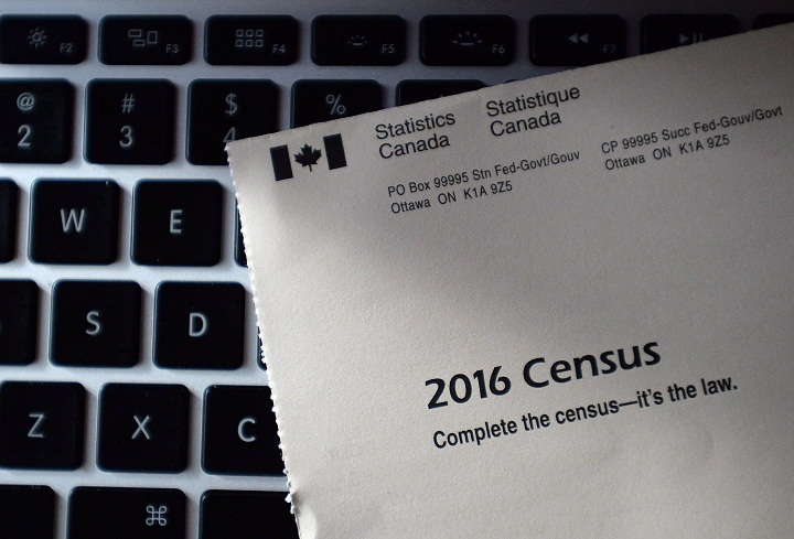 A file photo of the 2016 census.