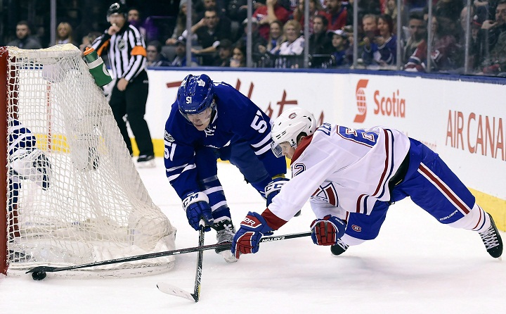 Shaw Scores Ot Winner As Habs Win 14th Straight Over Maple Leafs Montreal Globalnews Ca