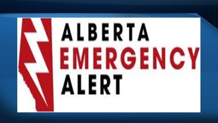 Alberta Emergency Alert logo.
