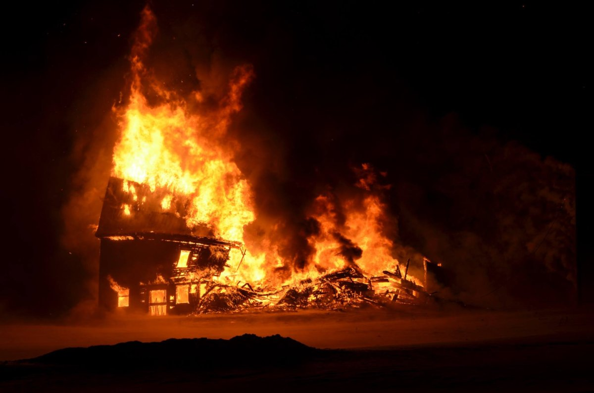 The fire that destroyed Bates Barn, a New Brunswick wedding and event venue, is being investigated as a case of arson.