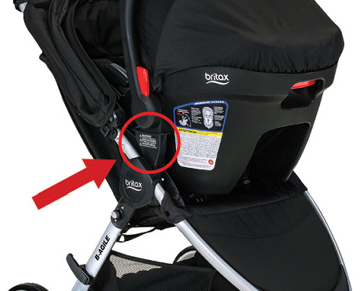 The Britax recall focuses on the faulty mounts.