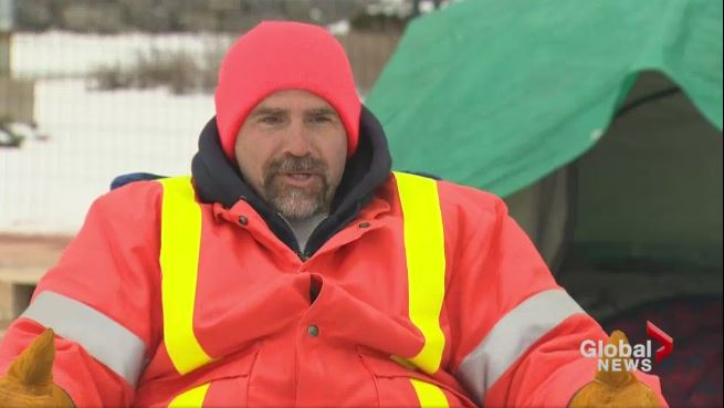 Paul Tavares will be living in a tent for 90 days to raise awareness about homelessness.