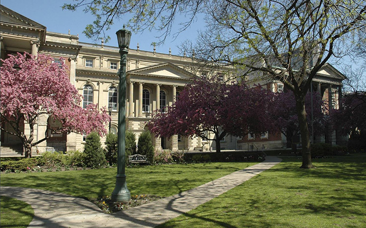 File photo of Osgoode Hall in Toronto, where The Law Society of Upper Canada has offices.