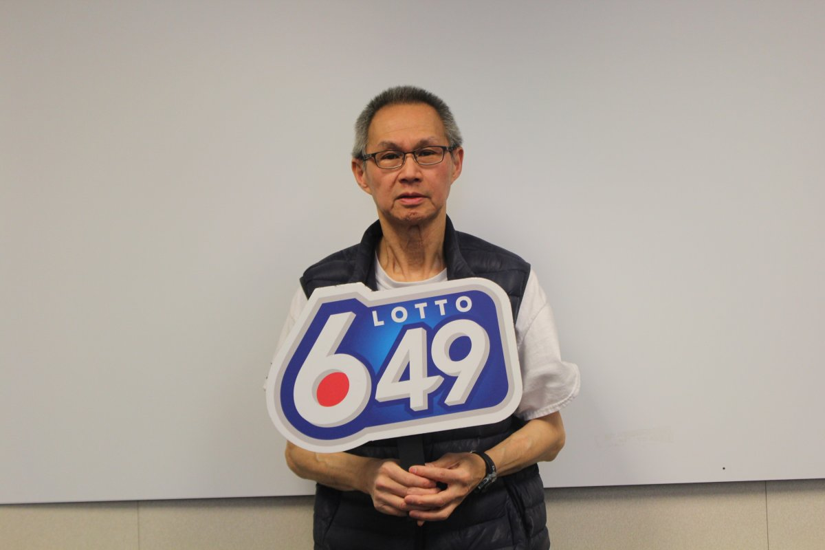 Clement Chan won $1 million on the Dec. 24, 2016 Lotto 6/49 draw.