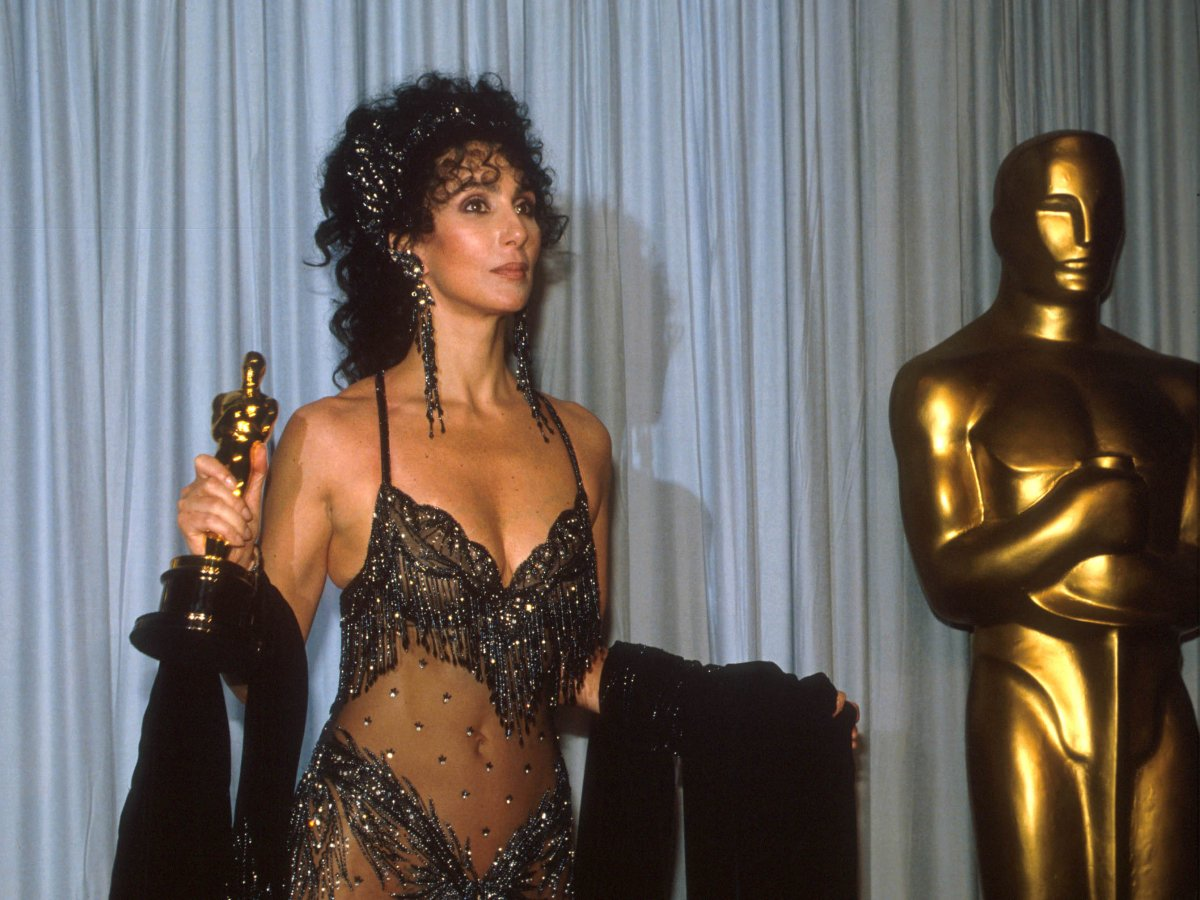 A frequent inclusion to many worst-dressed lists, Cher's outlandish Oscars outfits signalled a time when celebrities still took risks on the red carpet.