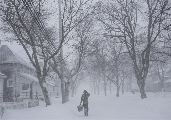 Environment Canada has issued a snowfall warning for eastern mainland Nova Scotia.