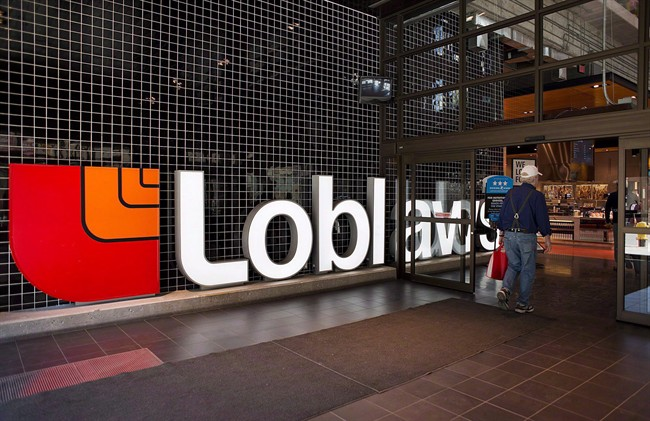 A Loblaws store in Toronto is shown on Thursday May 2, 2013. Loblaw is warning PC Plus rewards collectors to beef up their passwords after points were stolen from some members' accounts. THE CANADIAN PRESS/Aaron Vincent Elkaim.