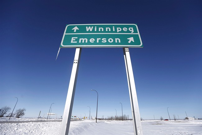 More asylum seekers continue to make the trek across the US-Canada border in to Emerson, Manitoba.