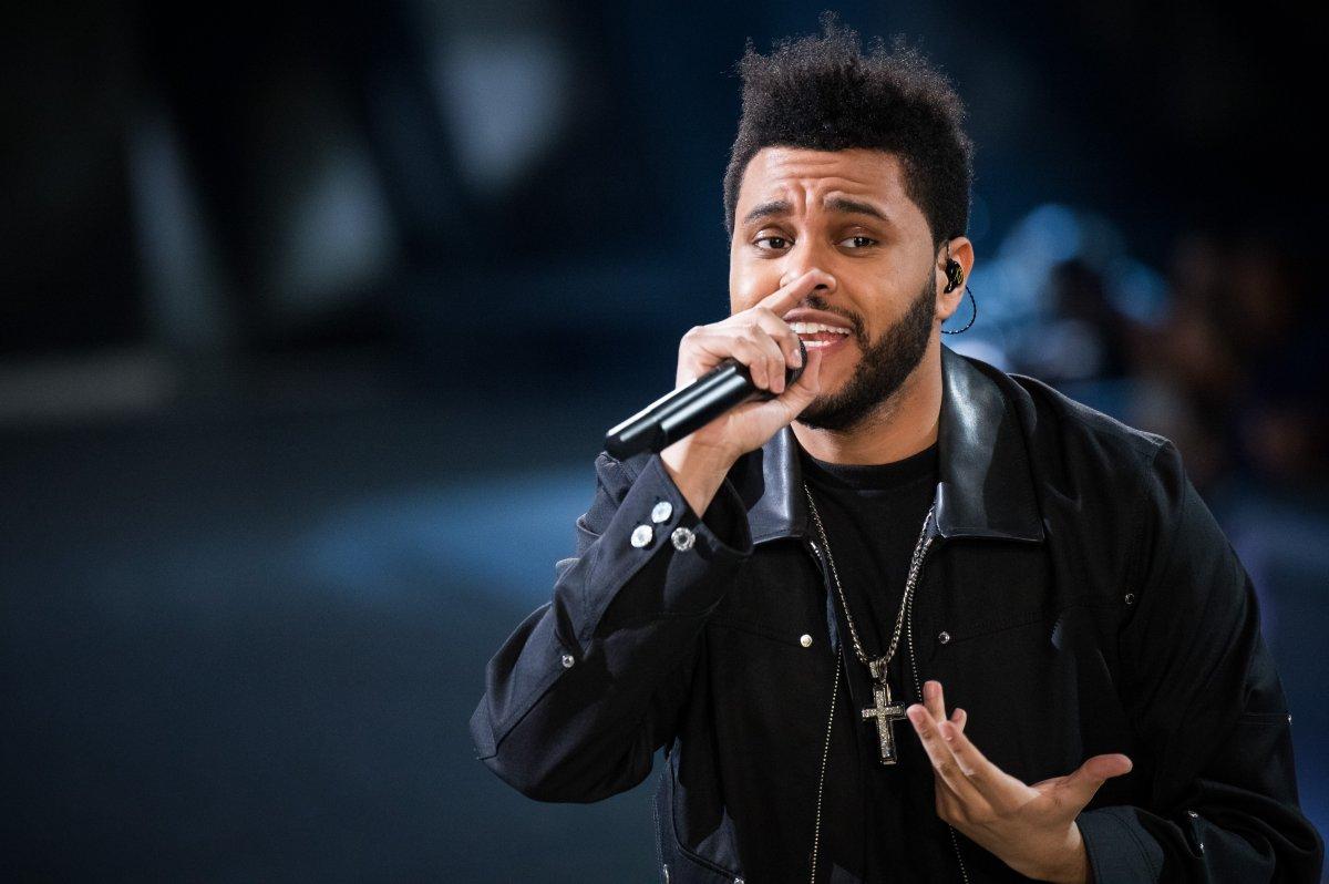 The  Weeknd performs at the Victoria's Secret Fashion Show on November 30, 2016 in Paris, France.