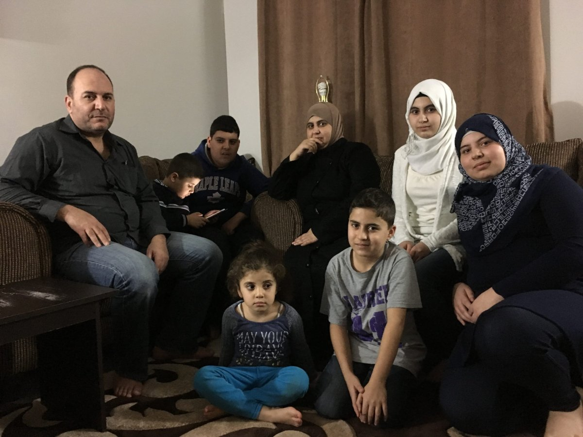The Al Masalmehs are one of 246 Syrian families — or 1,195 Syrian refugees — to move to London in 2016, and adapting to their new life has made the day-to-day very busy.