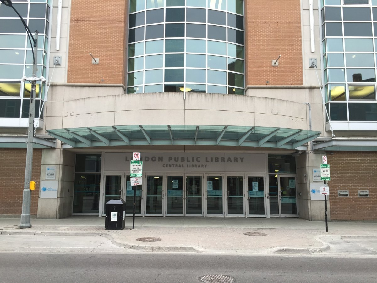 London Public Library's Central Branch at 251 Dundas St.
