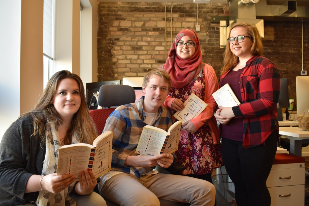 Londoners taking part in 'One Book One London'.