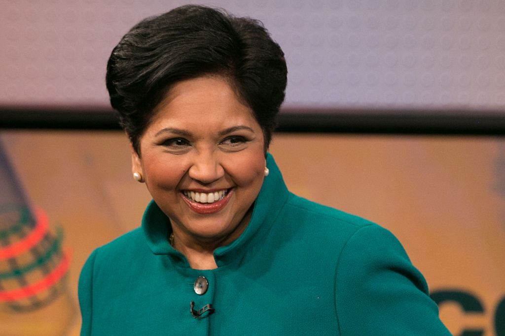 Indra Nooyi, Chairperson and Chief Executive Officer of PepsiCo, in an interview on March 9, 2015.