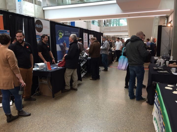 The event included 31 vendors, 50 per cent more than last year's inaugural expo, which saw 20 vendors.