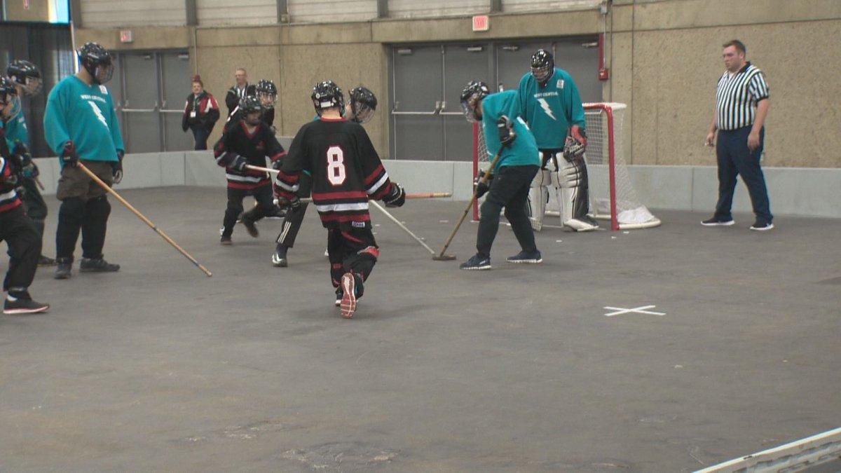 Hundreds take part in the 2017 Special Olympics Floor Hockey Invitational.