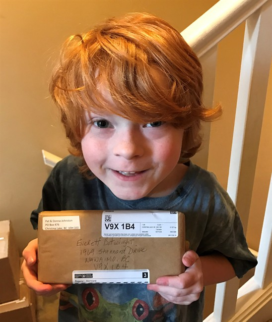 B.C. boy with autism receives over 500 boxes of special Kraft Dinner - image
