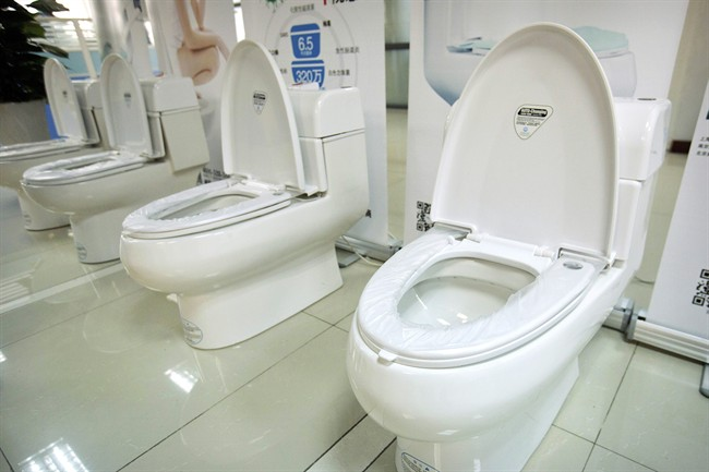 Clear, yellow, dark yellow, do you ever take a look at the colour of the contents in your toilet bowl? .